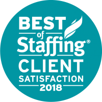 Artisan Talent - Best of Staffing: Client Satisfaction 2018 Award