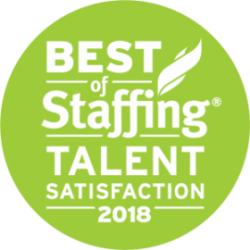 Artisan Talent - Best of Staffing: Talent Satisfaction 2018 Award